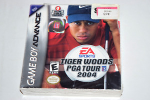Tiger Woods 2004 Nintendo Game Boy Advance New in Sealed Box
