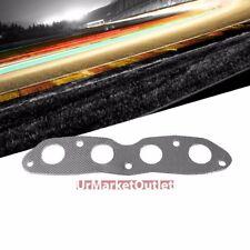 Graphite Aluminum Gasket Exhaust Manifold For Toyota 06-15 Yaris VITZ DOHC 1.5