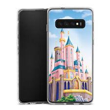 Samsung Galaxy S10 Plus Silikon Hülle Case - Disney Castle