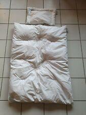 Julian Zöllner Kinder Steppbett-Set Kissen Decke Feder/Daune 100/135 + 40/60 cm