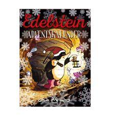 Adventskalender 24 EdelSteine, Trommelsteine Weihnachtskalender  Maulwurf Theo