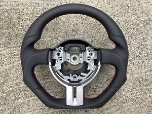 TOYOTA GT86 SUBARU BRZ NEW CUSTOM MADE FLAT BOTTOM STEERING WHEEL