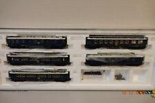 TRIX HO, CIWL Orient Express, 5 Passenger Car Set 24795 superb boxed condition