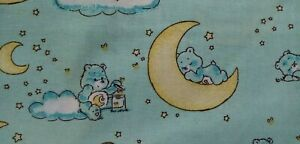 Camelot Care Bears Bedtime Bear Blue moon FQ/Half metre 100% cotton,free p&p,