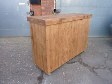 Industrial Rustic Shop Counter Home Drinks Bar Kitchen Island Delivery Available