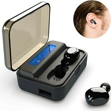 Topepop 5.0 Mini in Ear Wireless Bluetooth Earbuds Noise Cancelling Headphones