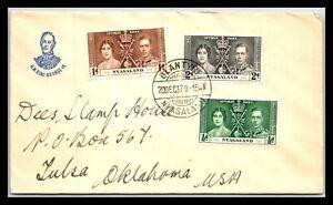 GP GOLDPATH: NYASALAND COVER 1937 _CV685_P04