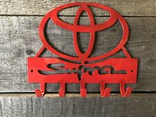 Toyota Supra key hook/ Sign wall art-CNC cut for garage or shop