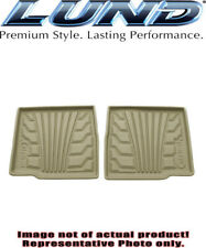 Lund 383039-T Catch-It Vinyl Floormats-Rear Only 98-10 Ford Ranger SuperCab Tan
