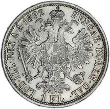 AUSTRIA coin 1 Florin 1892 XF Extremely Fine condition