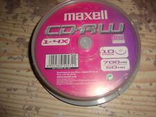 SPRINDLE 10 CD-RW MAXELL