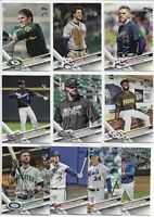 2017 Topps Update (49) Card Photo Variation Short Print Lot All Different SP RC
