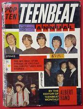 ♫ TEEN BEAT Annual 1966 Annual  Beatles Rolling Stones Kinks ♫
