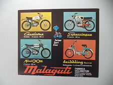advertising Pubblicità 1970 MOTO MALAGUTI CAVALCONE CROSS 50/MINI/SUPERCINQUE