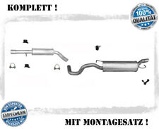 AUDI TT COUPE 1.8 150//163//180//190PS 1998-2006 Mitteltopf Auspuff