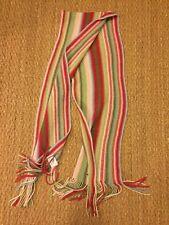 LaCoste Multicolor Wool Scarf