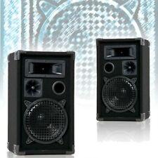 PAAR 600 Watt  DJ PA 3-Wege Boxen Lautsprecher Disco Party Beschallung DJ-Pro 8
