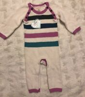HATLEY Girls Stripe Sweater Outfit Romper Winter 12-18 months New