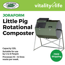 Joraform Little Pig 125L Rotational Composter Bin - JK125HS