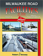 Milwaukee Road Facilities In Color Vol 2: MN SD MT ID WA  / trains / railroad