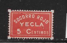 SPAIN     YECLA     SOFIMA  1    MINT HINGED      SPANISH CIVIL WAR