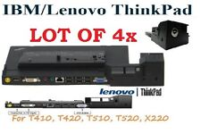 Lot of 4x 4337 Lenovo IBM Thinkpad Dock Type Series  for T410, T420, T510, T520