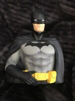 Batman PVC Bust Coin Bank 3D Toy Figure Piggy Bank Justice League DC comics