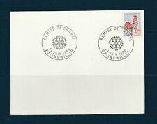 FRd carte Rotary remise de charte 67 Ingwiller 1966