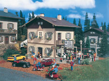 Vollmer HO Scale Kit Country Inn w/Beergarden #3833