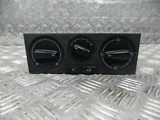 VW GOLF MK4 03 HEATER PANEL WITH A/C SWITCH