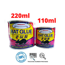 NON TOXIC ODOURLESS RAT GLUE TRAP FOR MOUSE MICE RODENT PEST INSECT STICKY