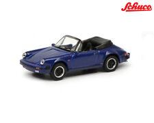 Schuco 452635200 Porsche 911 Carrera 3.2 Cabrio, blau 1:87 ++ NEU in OVP