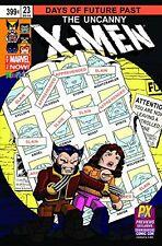 SDCC 2014 Exclusive Marvel Uncanny X-Men #23 Days of Future Past Minimates Comic