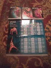 PIYO by Beachbody 3 DVD Set + Manuals & Guides