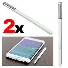 2x White Premium Replacement S Pen Stylus Pen S-Pen For Galaxy Note 4 Note Edge