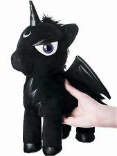Peluche licorne noire ailes gothique satanique dark déco Myth Plush Toy KillStar