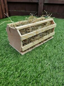 Guinea pig hay barrel/hayrack (fully assembled just take out of box)