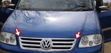 CHROME FRONT GRILLE GRILL ACCENT COVER TRIM SET FOR VW VOLKSWAGEN CADDY 2004-09