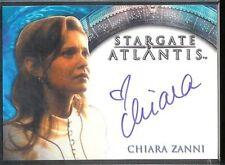 Stargate Atlantis 3&4 Autograph Card Chiara Zanni