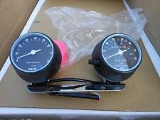 NOS Harley Davidson Gauges Speedometer Speedo Blue Dot Tach Tachometer MPH