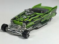 Hot Wheels 2003 '57 Roadster Metalflake Lime Green HW Waistlanders Series Loose