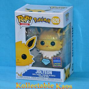 Pokemon - Jolteon Diamond Glitter Pop! Vinyl Figure (2021 Wonder Con) (RS) #628