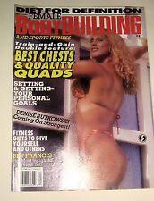 Vintage Female Bodybuilding & Sports Fitness Magazine, Strength+Sensuality,#37