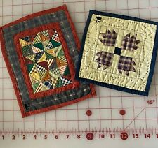 Boyds Bears Collection Accessories Quilts - Lot of 2 - Bearwear