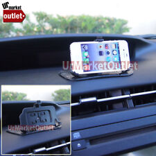 Car/SUV Mobile Non-Slip Sticky Dashboard Grip Pad+Stand Fit Apple iPhone 4/4S