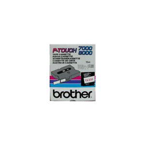 Brother Schriftband TX-232 für P-touch 7000, P-touch 8000, rot