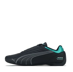 Puma Men's Mercedes AMG Petronas Motorsport Future Kart Cat Trainers Shoes Black