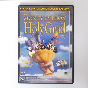 Monty Python And The Holy Grail Movie DVD Region 4 AUS Free Postage - Comedy