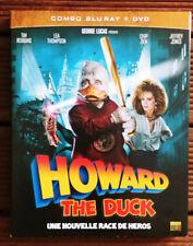 RARE Combo Blu-ray + DVD-Howard the Duck-1986- Willard Huyck