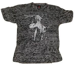 Bob Marley - Burnout Tie Dye New Never Worn Licensed Ltd Ed T-shirt 2000s ZION M